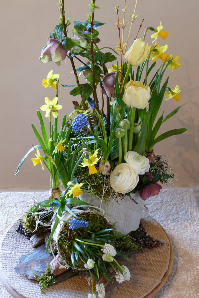 Just blooming adventures in floral art and design for Garden artist designs
